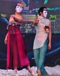 Travel Photo Thursday, March 10, 2010 -- Andong International Maskdance Festival--Dress Rehearsal