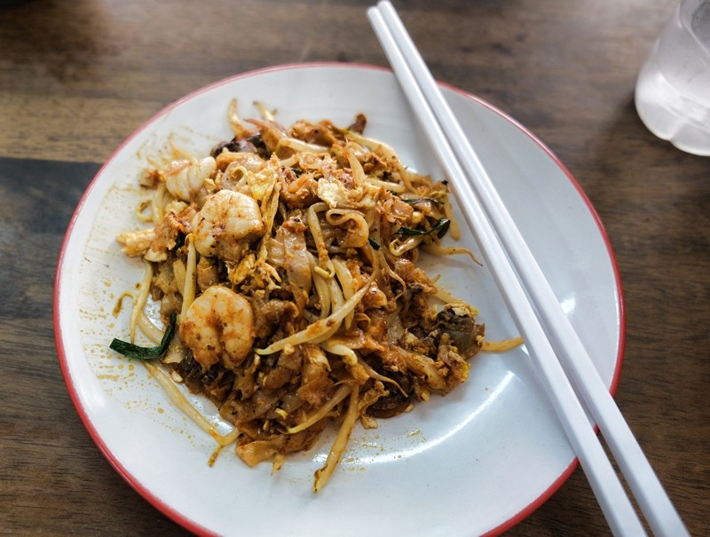 Char Kway Teow, Sin Hwa Coffee Shop, Penang
