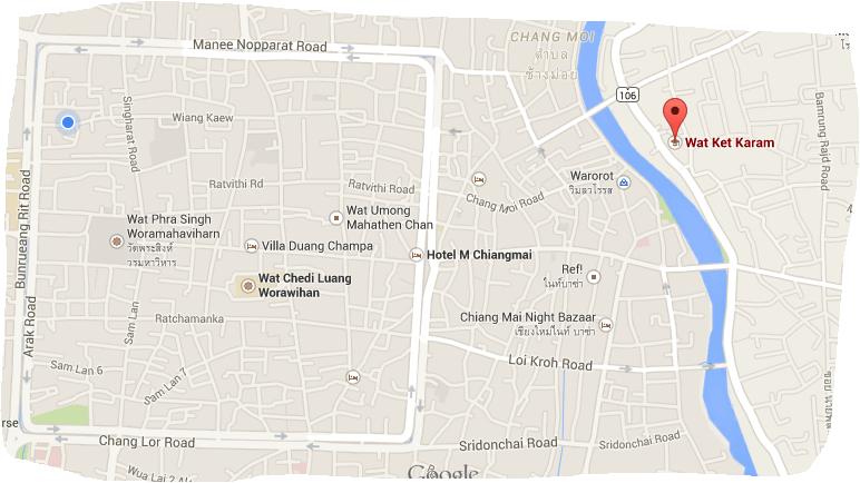 Wat Ket Karam, Chiang Mai, Thailand