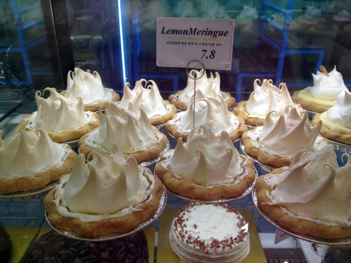 Lemon Meringue, Tartine Pie Cafe, Seoul, Korea
