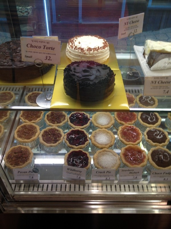 Pies in the Case, Tartine, Seoul, Korea