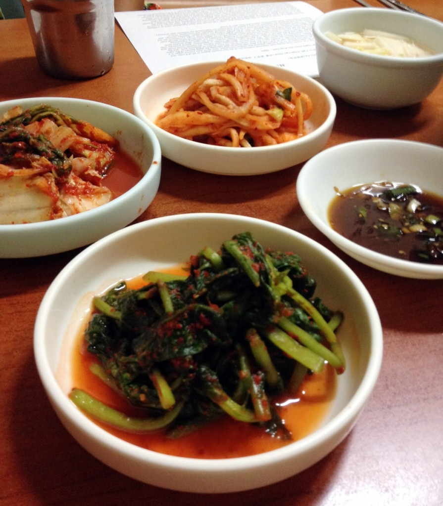 Banchan at Gwanghwamun Jip