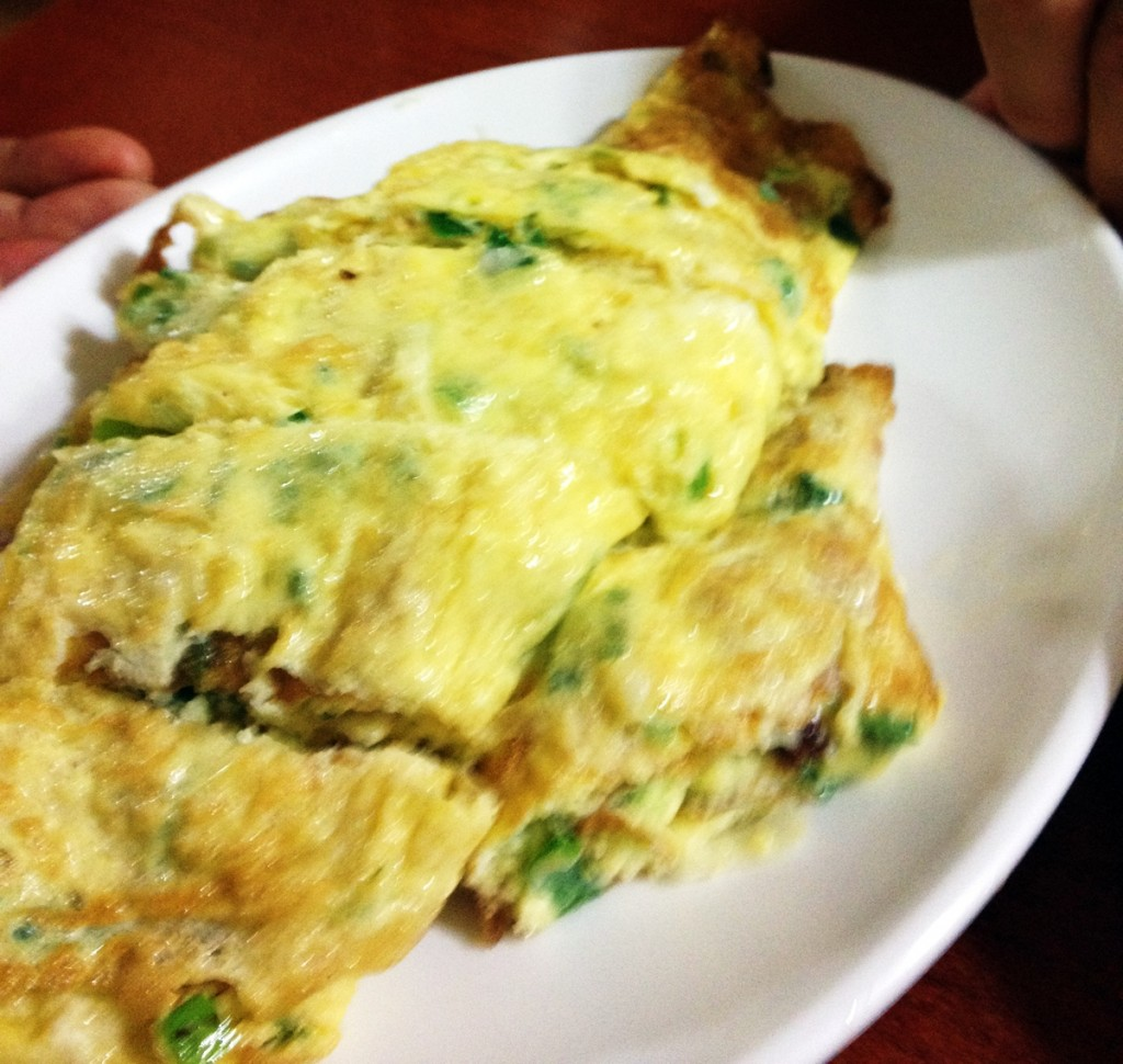 Gyeran Mari (Korean rolled omelet)