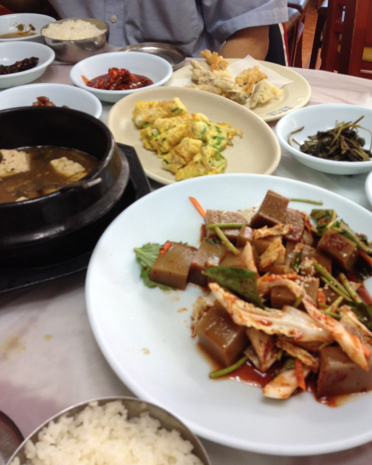 Lunch, Danyang, Korea