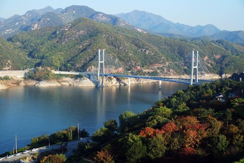 Korea: Fall Colors in Danyang, Korea