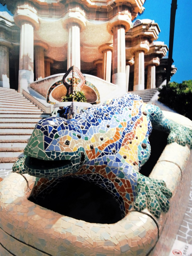Dragon, Park Guell, Seoul Arts Center