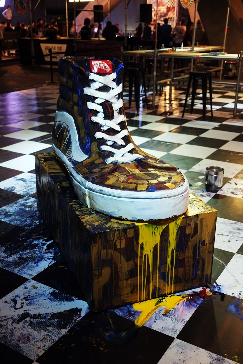 Sneaker Painting Contest at Dongdaemun History and Culture Park, Seoul, Korea